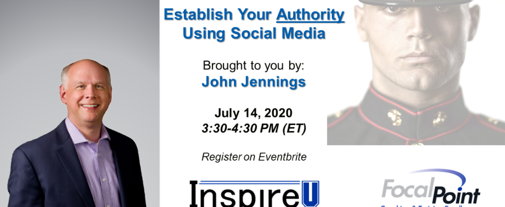 Establishing Authority on Social Media